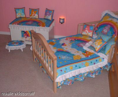 Care Bear Rainbow Crib Set Toddler Bed Set